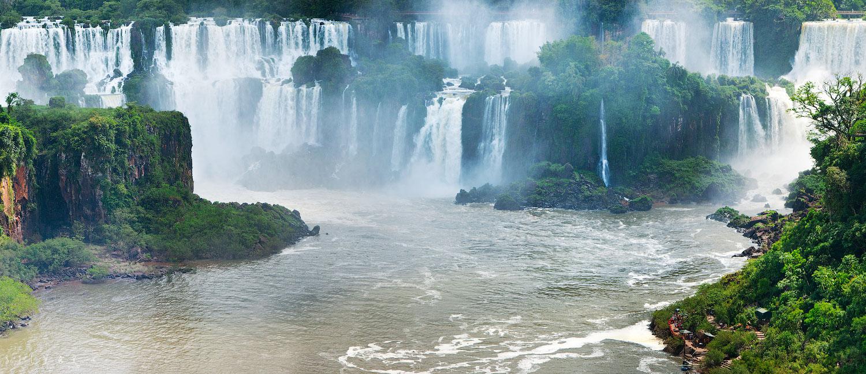 водопад Игуасу - бразильская сторона